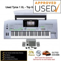 Used Yamaha Tyros 1 With Speakers - Top Grade Used Example