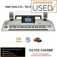 Used Yamaha Tyros 2 With Speakers - Top Grade Used Example