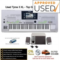 Used Yamaha Tyros 3 With Speakers - Top Grade Used Example