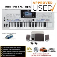 Used Yamaha Tyros 4 XL Top Grade Example