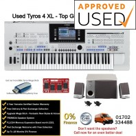 Used Yamaha Tyros 4 Bundle Top Grade Used Example