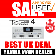 Used Yamaha Tyros 4 & Speakers - LIMITED QUANTITY