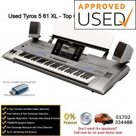 Used Yamaha Tyros 5 61 XL Top Grade Used Example