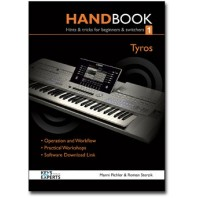Yamaha Tyros Handbook & User Guide Book 1