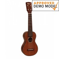 Cort UKE-BWS Open Pore Soprano Ukulele Demo Model