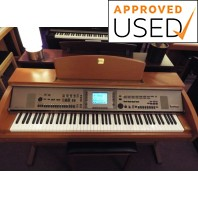 Used Yamaha CVP305 Cherry Digital Piano