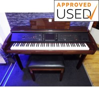 Used Yamaha CVP309 Polished Mahogany Digital Piano