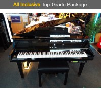 Used Yamaha GranTouch DGT2A Disklavier Digital Grand Piano With CD Burner Complete Package