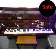 Used Yamaha M5J Polished Mahogany Upright Piano