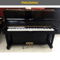 Refurbished Yamaha U1D Polished Ebony Upright Piano All Inclusive Package