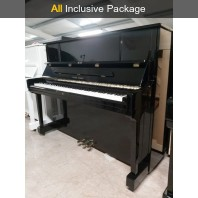 Used Young Chang U121C Polished Ebony Upright Piano All Inclusive Package