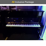 Used Young Chang U3 Polished Ebony Upright Piano All Inclusive Package