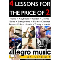 4 For 2 New Student Offer - Class Lessons