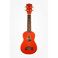 Makala MK-SCAR - Dolphin Series - Soprano  Candy Apple Red