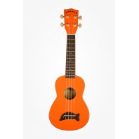 Makala MK-OR - Dolphin Series - Soprano  Painted Orange