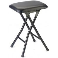 Multi Purpose Fold Up Black Stool