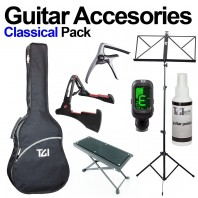 Classical Guitar Accessories Pack