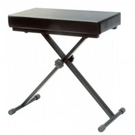 Upgrade Black Adjustable Height Keyboard Stool