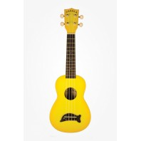 Makala MK-SC-Y - Dolphin Series - Soprano  Painted Yellow