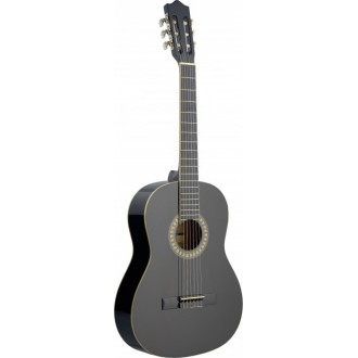 4/4 Size Classical Guitar - Black