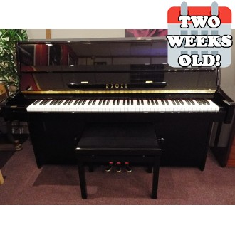 Used Kawai K-15 E Ebony Polished Upright Piano