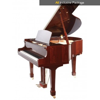 Steinhoven SG183 Polished Mahogany Grand Piano All Inclusive Package