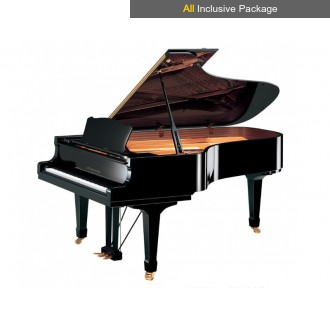 Steinhoven SG227 Polished Walnut Grand Piano All Inclusive Package