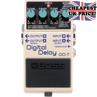 Boss DD-7 Digital Delay Demo Model