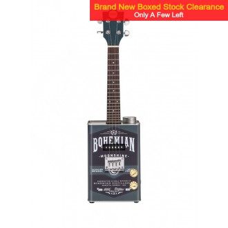 Bohemian Moonshine BGU15MSH Oil Can Ukulele