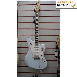 Revelation RJT60 Sky Blue 4 Quad Electric Guitar Demo Model