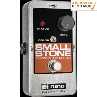 Electro Harmonix Small Stone Analog Phase Shifter Demo Model