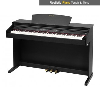 Broadway EZ-102 Polished Ebony 88 Note Weighted Home Piano