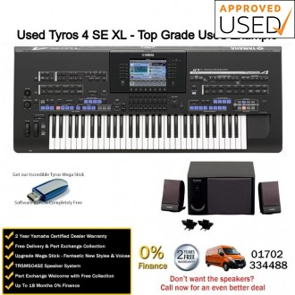 Used Yamaha Tyros 4 Special Edition XL Top Grade Used Example
