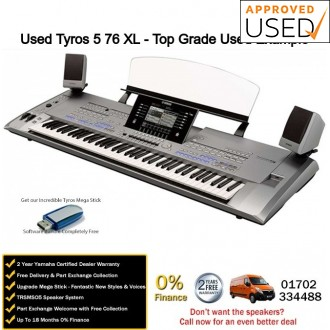 Used Yamaha Tyros 5 76 XL Top Grade Used Example