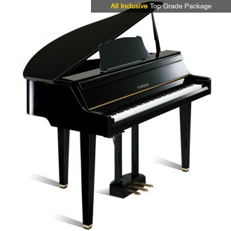 Used Yamaha GranTouch DGT2A Disklavier Digital Grand Piano Package