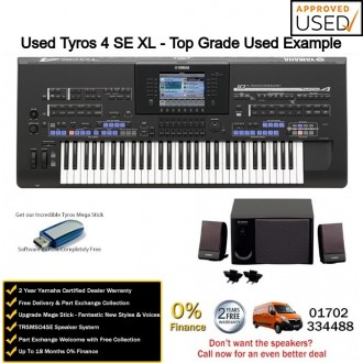 used yamaha tyros 4 special edition xl top grade used example. Black Bedroom Furniture Sets. Home Design Ideas
